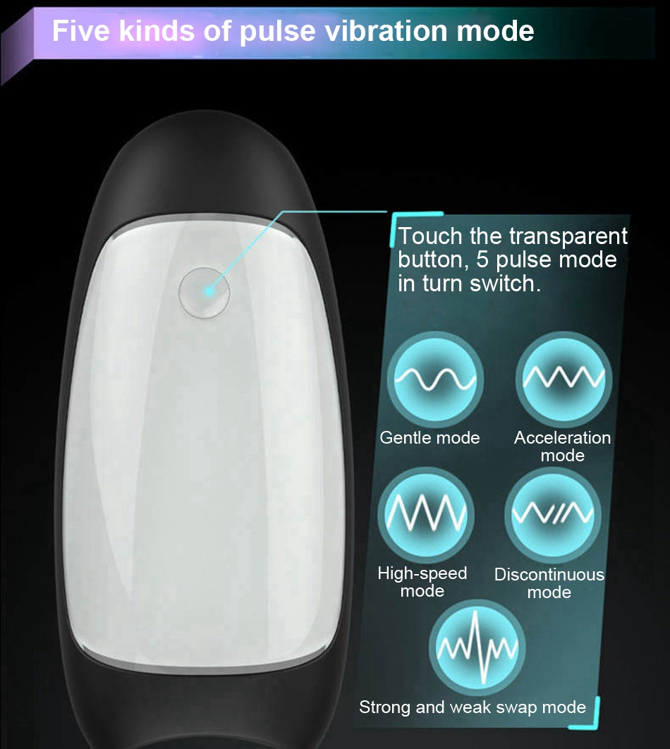 Electronic pulse massager sex